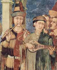 Simone Martini - Investiture of Sam Martino